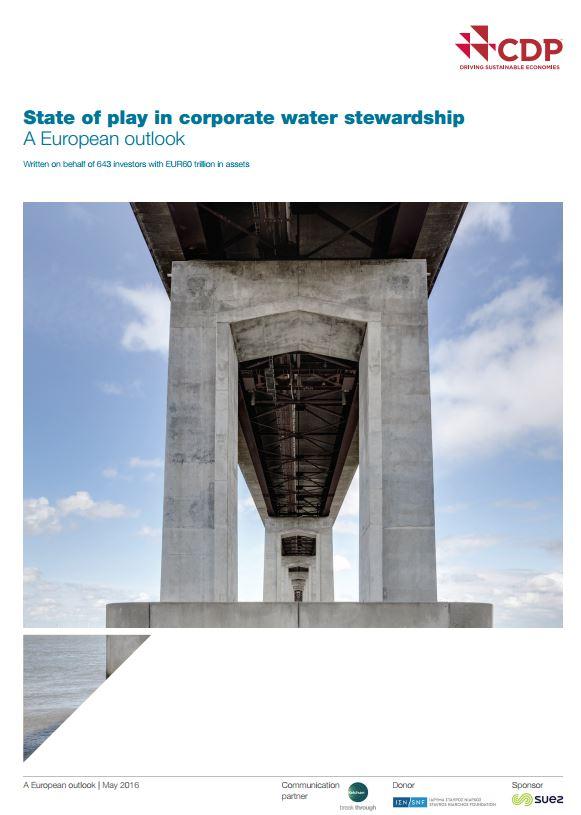 Beursgenoteerde bedrijven nog weinig transparant over waterbeleid