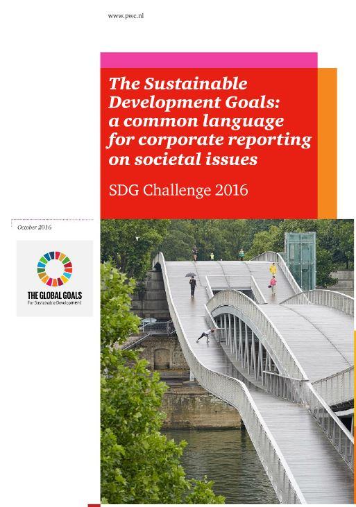 The Sustainable Development Goals: een gemeenschappelijke taal voor corporate verslaggeving over sociale thema's