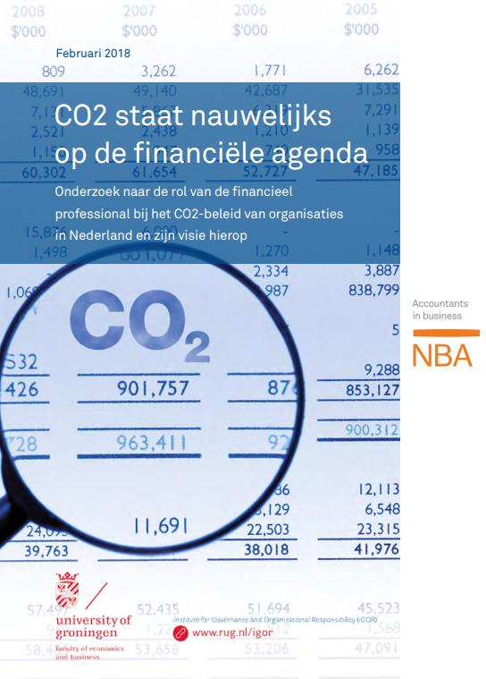 NBA is van mening dat ondernemers die een jaarverslag uitbrengen, hierin moeten rapporteren over hun klimaatprestaties
