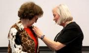 Koninklijke onderscheiding Teresa Fogelberg (Global Reporting Initiative)