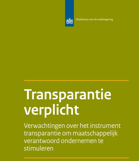 PBL: Transparantie en verantwoording grote bedrijven over klimaat onder de maat