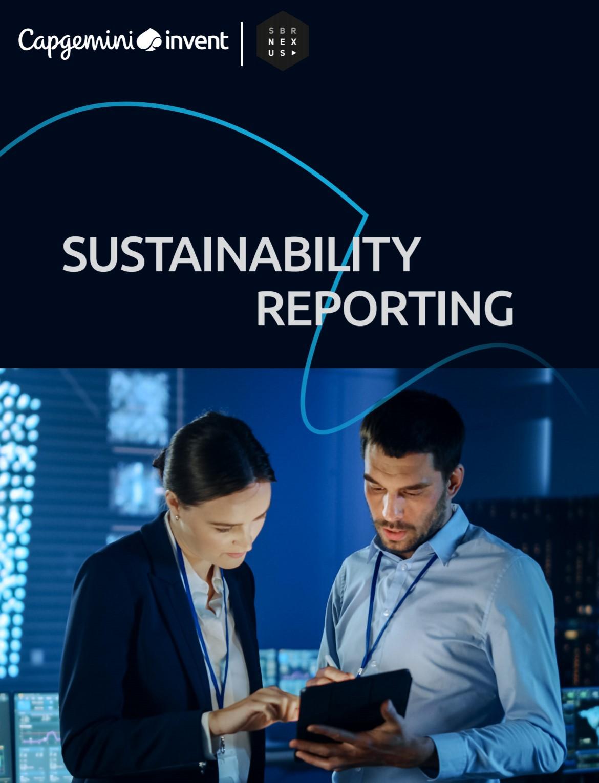 SBR Nexus en Capgemini lanceren whitepaper duurzaamheidsrapportages voor financiële sector